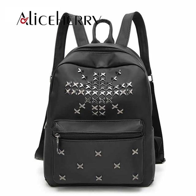 7e0edcdc6a Aliceherry Donne oxford zaino di scuola borsa da viaggio delle donne marche  famose Piccola Grande Rivetto