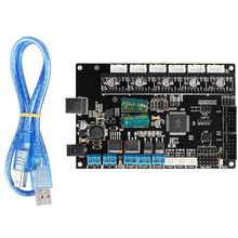 купить TriGorilla Mainboard Integrate Mega2560 and RAMPS1.4 4Layers PCB Controller Board Motherboard 3D Printer Accessories в интернет-магазине