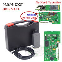 Full OKI Chip VAS5054 VAS 5054A ODIS 3 03 With Original Bluetooth VAS 5054 Support UDS