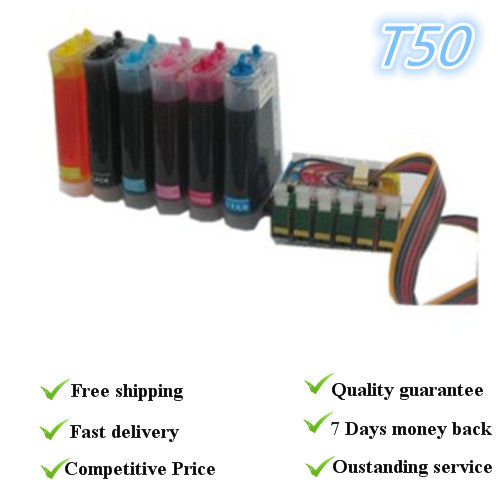 (Without ink)CISS T50,Suit for Epson TX700/TX800/TX710W  ,with permanent chips full sublimation ink ciss suit for t0821n t0826n suit for epson rx615 r270 r290 t50 t59 a837 tx700 tx800 tx820fwd etc