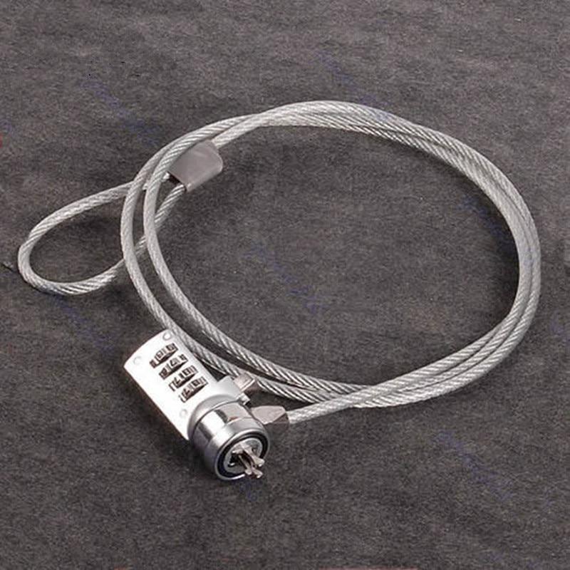 Deek-Robot 4 Digit Security Password Computer Lock Anti-theft Chain For Notebook PC Laptop