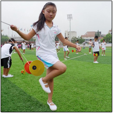 Hight Quality Two-color Classic Chinese YoYo & Hand Stick Plastic Bowl Diabolos Juggling Children Toys Gifts Outdoor Play Fun
