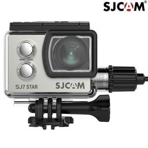 Image 3 - SJCAM Accessories Motorcycle Waterproof Case for Original SJCAM SJ7 Star Charging shell Charger Case SJCAM SJ7 Camera Clownfish