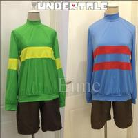 Undertale cos Frisk Chara cosplay T shirt