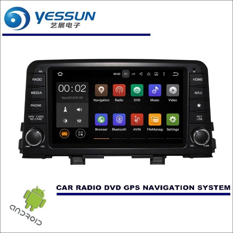 YESSUN Wince / Android Car Multimedia Navigation System For Kia Picanto Morning 2011~2016 GPS Player Navi Radio Stereo no CD DVD масляный насос рулевого управления с усилителем kia picanto morning sa 2005 2010 5710007000