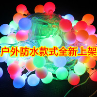 Led Lights 30 Meters Flasher Lamp Set Ball Lighting String Outdoor Waterproof Garden Lamp Christmas Decoration