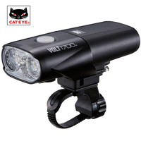 CATEYE VOLT1700 Bicycle Light Cycling Professional Super Bright Headlights High Intensity LED Handlebar Front Lights 5