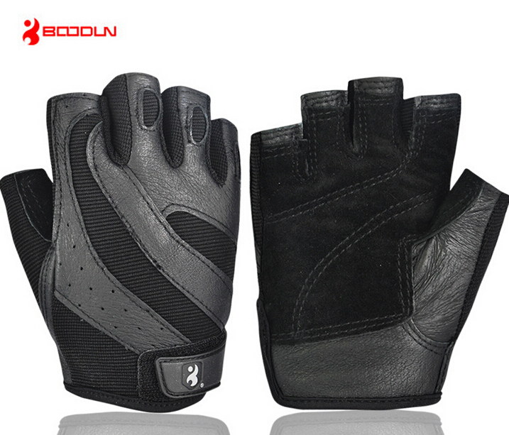 Boodun men Exercise Slip Resistant font b Gloves b font Training Body Building Gym Weight Lifting