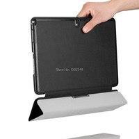 Lightweight Wake Sleep Original Stand Case Ultra Slim MagSmart Leather Skin Cover For Samsung Galaxy Tab