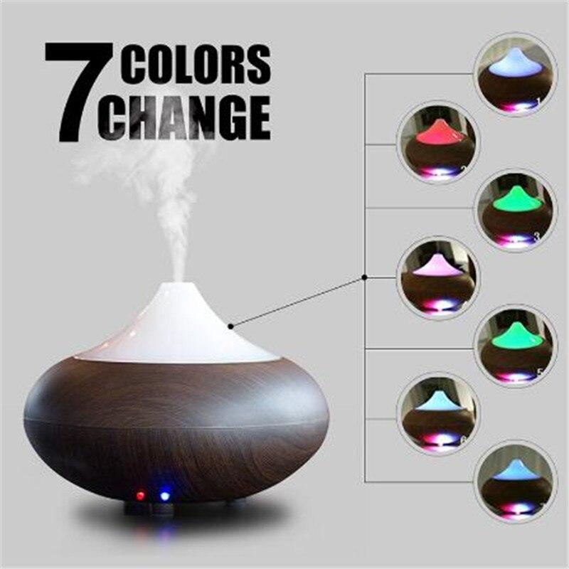 GX.Diffuser Humidifikues Ajri 7 Ngjyra shpërndarës druri me dru - Pajisje shtëpiake - Foto 6