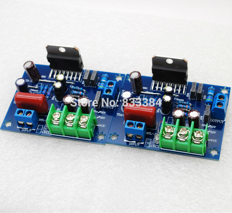0ea86943232 Free shipping Stero Mini Split TDA7293 Amplifier 60W+60W 100W+100Wmax  Assembled