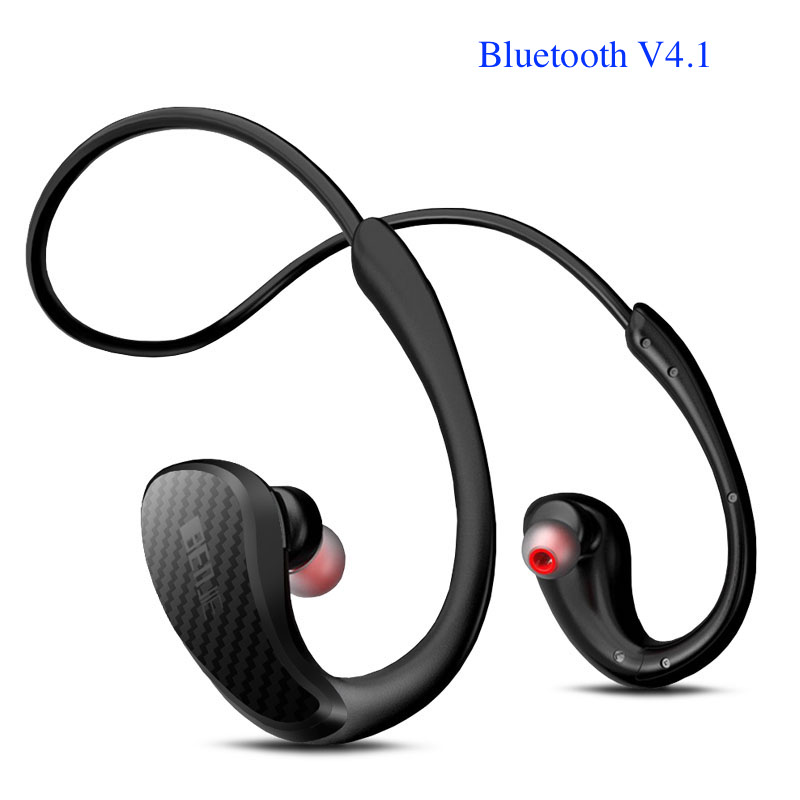 New Benjie IPX4 Waterproof Bluetooth 4.1 Sports Earbuds Headphone Wireless Earphone with Microphone Super Bass Earphone
