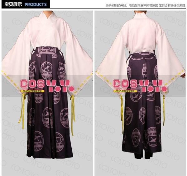 Anime Touken Ranbu mode en ligne uniforme Cosplay Costume ensemble complet Kimono + pantalon C