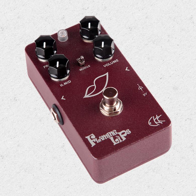CKK Électronique Flaming Lips NOUS Conduire Style Distorsion avec Graisse Boost Effet Guitare Pédale