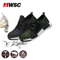 MWSC Man Safety Shoes Work Safe Shoes for Man Steel Toe Cap Outdoor Anti slip Anti smashing Anti puncture Safety Boots Shoes