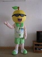 Прямая продажа с фабрики Новый Большой добрый Lemon мальчик Необычные платья Маскоты костюм взрослого характера Косплэй костюм Бесплатная до