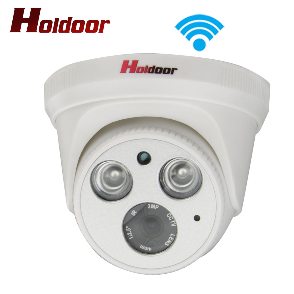 Holdoor 720P/960P/1080P Wireless IP Camera Dome Camera P2P Wi-Fi Security Cam AP Mode Onvif Indoor FTP Email Support TF Card