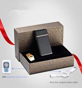 Image 5 - Encendedor de pulso Palsma, mechero USB recargable, mechero electrónico Ultra delgado, Encendedor de cigarrillos, Encendedor de cigarros, nombre láser gratis