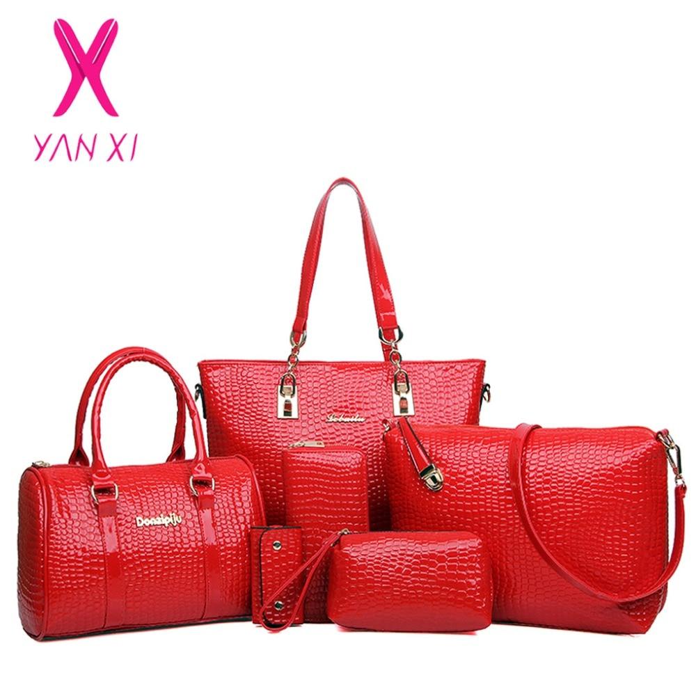 YANXI Hot 6 in 1 Fashion font b luxury b font font b designer b font