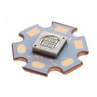 Epileds 7070 UV Paars 365NM Led Emitter Licht Op 20 MM Koperen Printplaat 3.8-4.2 V 350-2400mA