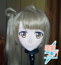 (KM8268) Top Quality Handmade Female Resin Lovelive Full Face Minami Kotori Japanese Cosplay Mask Kigurumi Crossdress Doll