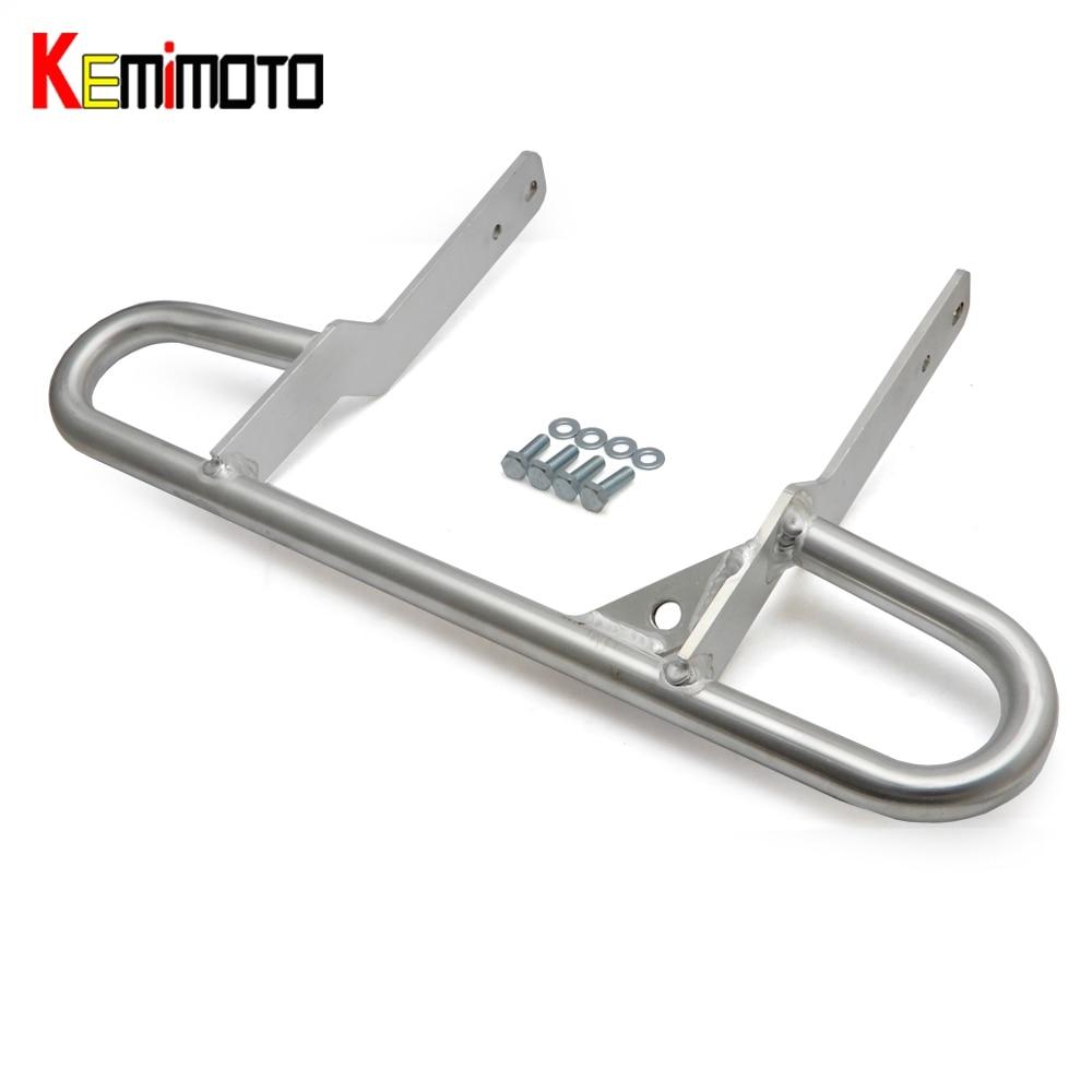 KEMiMOTO ALUMINUM Wide Grab Bar for ATV for YAMAHA RAPTOR 660 RAPTOR 660R Motorcycle Shelf Storage