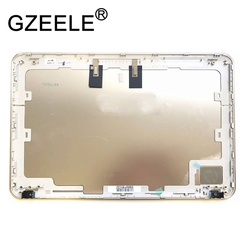 GZEELE NEW FOR HP Pavilion DM4-1000 DM4-2000 LCD Back Cover 650674-001 608208-001 TOP CASE silver цена