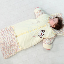 Thicken Cotton Baby Sleeping Bag Anti Kick Quilt Spring Autumn Winter Warm Envelopes For Newborns Soft Sleepsack C01
