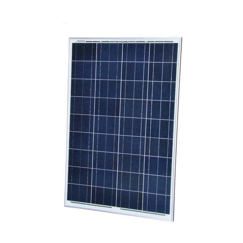 Kit panneau solaire polycristallin 100 W 12 V pour camping-car camping-car camping Z supports de montage régulateur de Charge solaire 10A 12 V 24 V