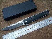 KESIWO BK Kwaiken Ball Bearing Flipper Folding Knife G10 Handle 9cr18 Steel Outdoor Camping Survival Knives