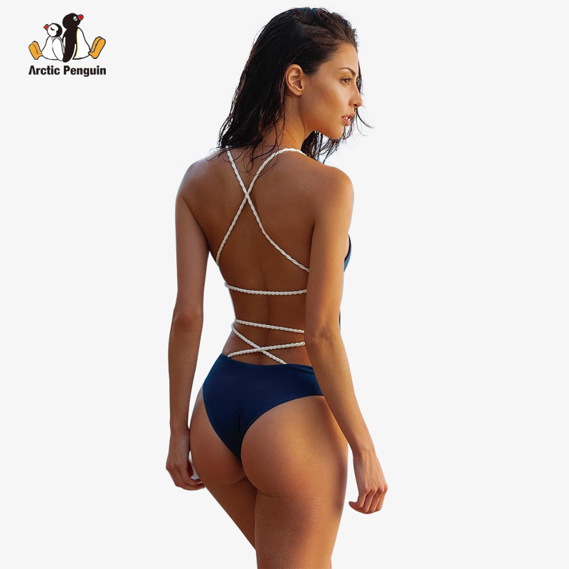 AP Sexy One Piece Bikinis 2018 New Sexy Push Up Swimsuit Beach Wear Bathing Suit Bandage Monokini Swimwear Bodysuit Biquini