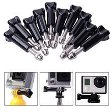 10pcs/lot Long Screw and cap Long Thumb Knob Bolt Nut for GOPRO HERO 4/3+/3/2/1/sj4000/sj5000/sj6000/GoPro Hero4 Session(China)