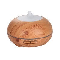 Mist Maker Ultrasonic Humidifier Nebulizer Fresh Air Fogger Aroma Diffuse EU Wood Machine Aromatherapy Umidificador