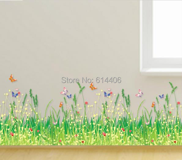 diy removable eco friendly transparent glass wall stickers cartoon