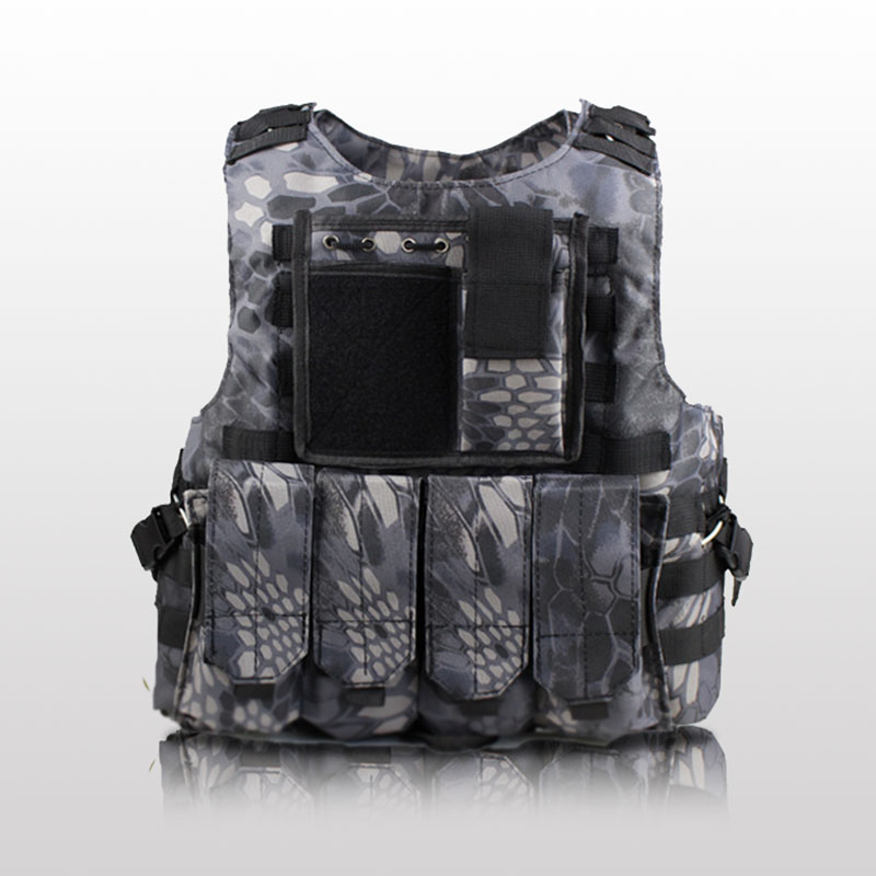 USMC Airsoft Unloading Vest Tactical Molle Protection Plates Soldier Combat Vests Army Military Camouflage Air Soft Carrier