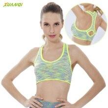 Women Dyed Strap Sports Bra Gym Fitness Yoga Bra Training Tops  Running Shakeproof Underwear