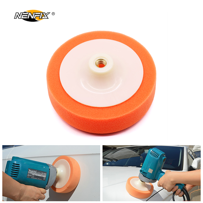 6 inch 14M 16M Car Polishing Cleaning Washing Sponge Buffing Waxing Pad Wheel Car Polisher Accessories