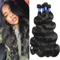 8A Brazilian Body Wave 4 Bundles Rosa Hair Products Virgin Unprocessed Brazilian Human Hair Weave 1B Mink Brazilian Virgin Hair