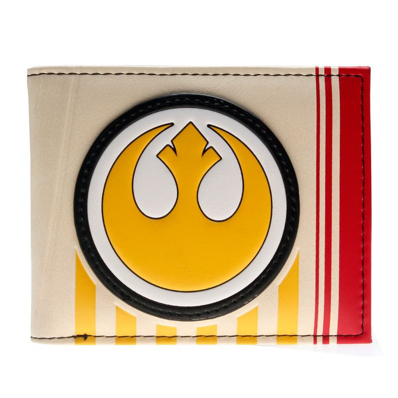 Men's Bags Intelligent Star Wars Galactic Empire Bi-fold Wallet Women Purse Dft-10092 With Traditional Methods