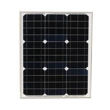 KINCO Steady 40w 18v Monocrystalline Silicon Solar Panels High Conversion Efficiency DIY Solar Power System For Car Battery