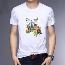 2019 New Short Sleeve 3D T Shirt Men T-Shirt Male Print 100% Cotton T-shirts Summer Homme Tops & Tees Plus Size 5XL Mens Clothes