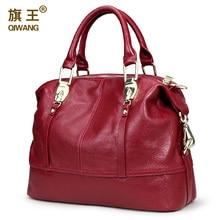 QIWANG Frauen Praktische Tasche Handtaschen Designer Geräumige Tasche Organisiert Frauen Leder Handtaschen Funktionale Schöne Geldbörse
