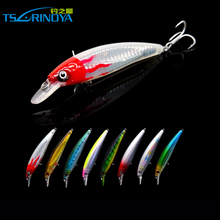 TruRinoya Multi Minnow 110mm 13g Big Lure Luminous Heavy Bait Water Depth Hard Fishing Lure font
