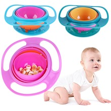 Baby Feeding Learning Dishes Bowl High Quality Assist Toddler Baby Food Dinnerware For Kids Eating Training Gyro Bowl все цены