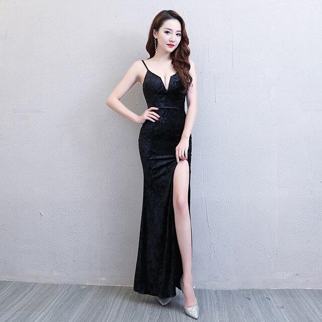 d032b0b0684 Floor-Length Full manual Sexy Star full Prom Evening dresses 2018 Cocktail  dress Night entertainment venue dress 148