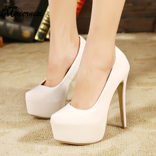 16cm Stainless Steel Thin Heels Pumps