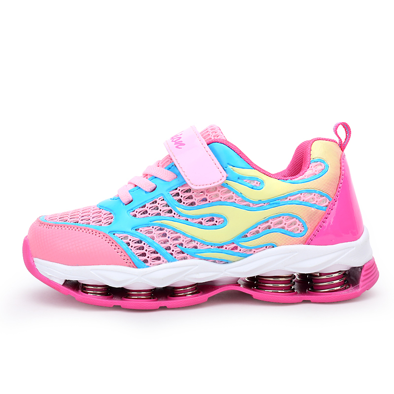 ULKNN Kids Sneakers Running Sport Trainers Springs Mesh Breathable Shoe Girls Sneakers For Children Shoes Boys Casual Shoes in Sneakers from Mother Kids