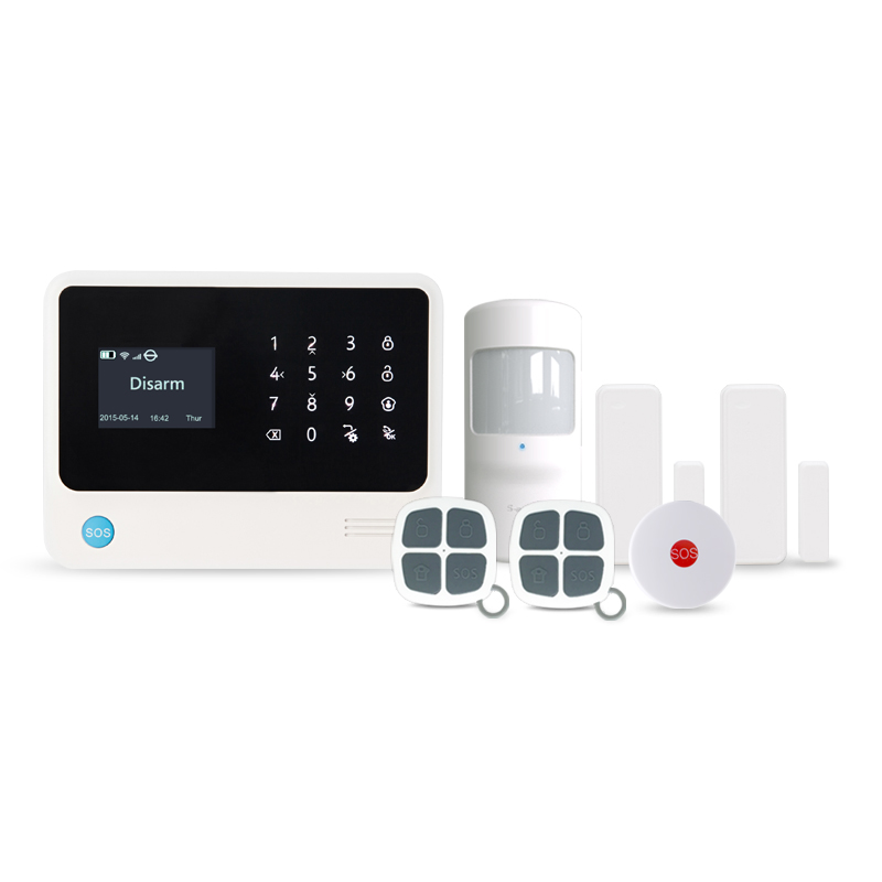 433MHz alarm System Home Security Systems Support Swedish Turkish Dutch English Languages Smart Home Security Wireless