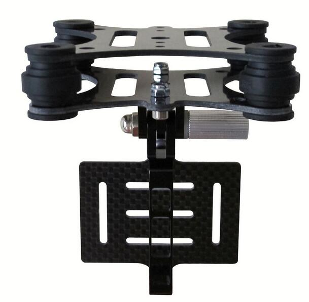 Gopro Hero 4 Hero 3+ Hero 3 Anti Vibration Anti-vibration Carbon Fiber Plate Mount + Fpv Camera Mount Gimbal For Dji Phantom Available In Various Designs And Specifications For Your Selection