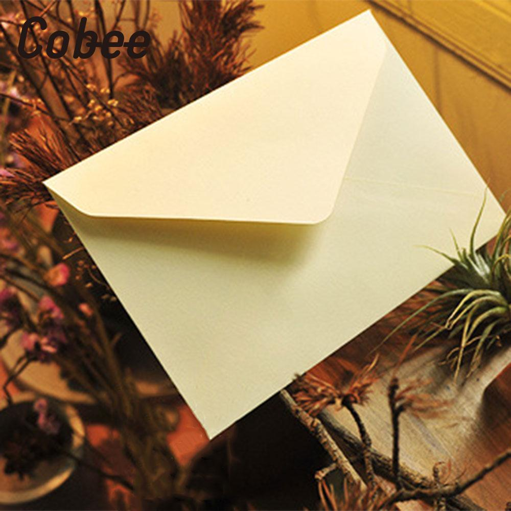 10pcs C6 Envelope 114mm X 162mm Recycled Card Envelopes Greeting Cards Postcard